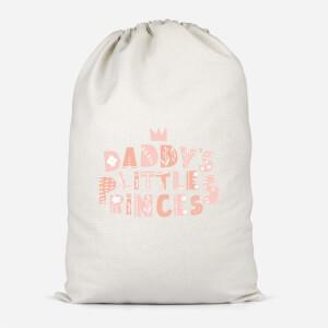 Daddy's Little Princes Cotton Storage Bag