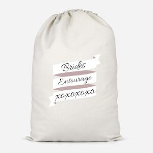Brides Entourage Cotton Storage Bag