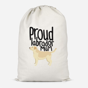 Proud Labrador Mum Cotton Storage Bag