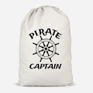 Pirate Captain Cotton Storage Bag