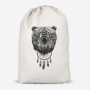 Dreamcatcher Bear Cotton Storage Bag