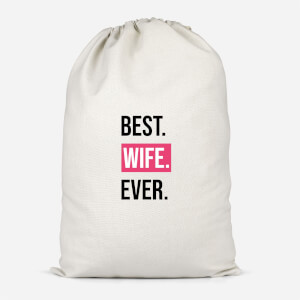 Best Wife Ever Cotton Storage Bag