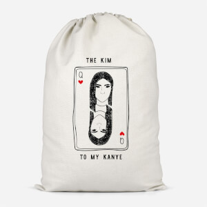 The Kim To My Kanye Cotton Storage Bag