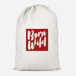 Born Wild Cotton Storage Bag