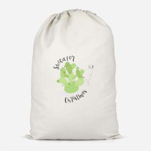 Succa For Christmas Cotton Storage Bag