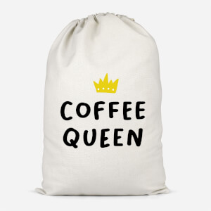 Coffee Queen Cotton Storage Bag