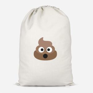 Poo Face Cotton Storage Bag