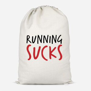 Running Sucks Cotton Storage Bag