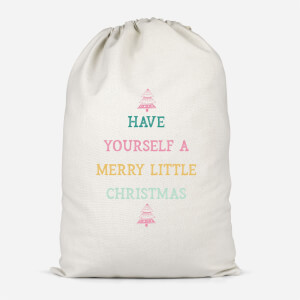 Have Yourself A Merry Little Christmas Cotton Storage Bag