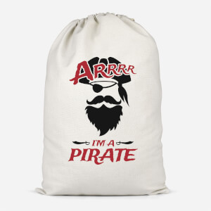 Arrrr Im A Pirate Cotton Storage Bag