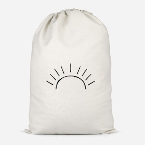 Sun Linework Cotton Storage Bag