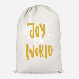 Joy To The World Cotton Storage Bag
