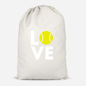 Love Tennis Cotton Storage Bag