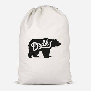 Daddy Bear Cotton Storage Bag