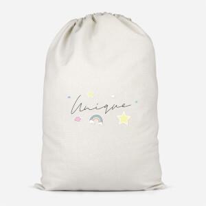 Unique Baby Pink Cotton Storage Bag