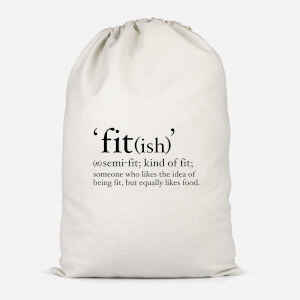 Fit (ish) Cotton Storage Bag