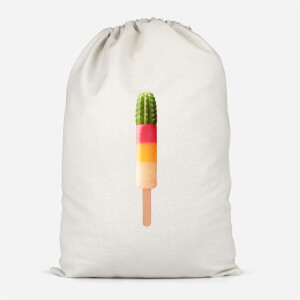 Cactus Ice Pop Cotton Storage Bag