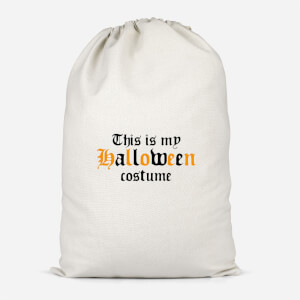 The Is My Halloween Costume Cotton Storage Bag
