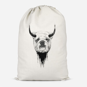English Bulldog Cotton Storage Bag