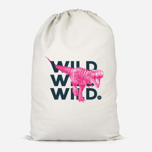 Wild Dinosaur Cotton Storage Bag