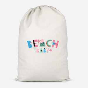 Beach Baby Cotton Storage Bag