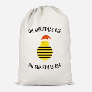 Oh Christmas Bee Oh Christmas Bee Cotton Storage Bag