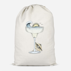 Summer Cocktail Cotton Storage Bag