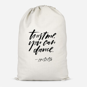 Trust Me, You Can Dance Cotton Storage Bag