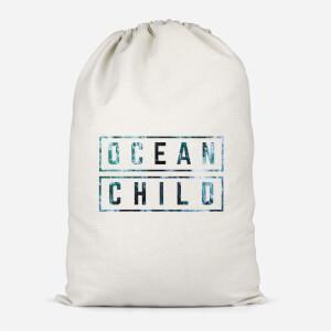 Ocean Child Cotton Storage Bag