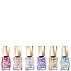 Mavala Cyber Chic Mini Colour Nail Varnish 5ml (Various Shades)