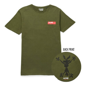 T-Shirt Looney Tunes ACME Capsule Coyote Contour - Forest Green