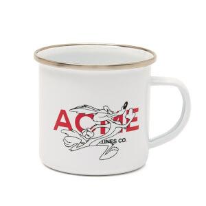 Taza esmaltada ACME Looney Tunes Coyote - Blanco