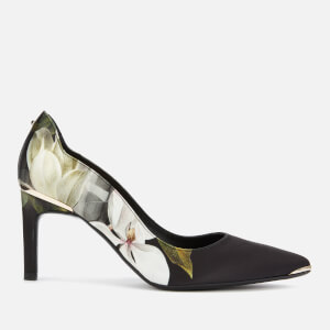 Ted Baker Women's Eriinp Satin Court Shoes - Opal