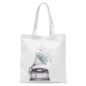 Escape Tote Bag - White