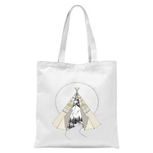 Into The Wild Tote Bag - White