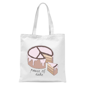 Peace Of Cake Tote Bag - White