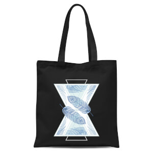 Feathers Tote Bag - Black