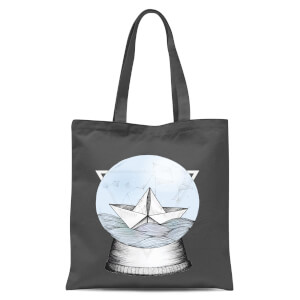 Teatime Tote Bag - Grey