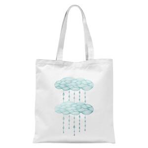 Rainy Days Tote Bag - White