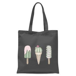 Sweet Treats Tote Bag - Grey