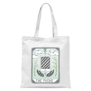 The Phone Tote Bag - White