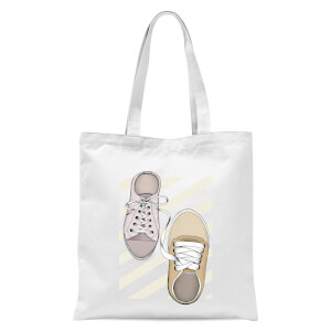 Tied To You Tote Bag - White