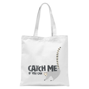 Catch Me If You Can Tote Bag - White
