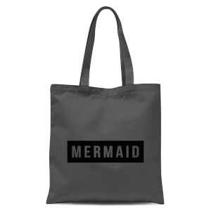 Mermaid Tote Bag - Grey