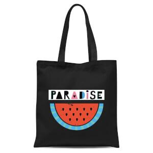 Paradise Tote Bag - Black