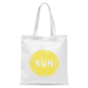 Sun Tote Bag - White