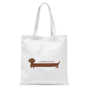 I Long For You Tote Bag - White
