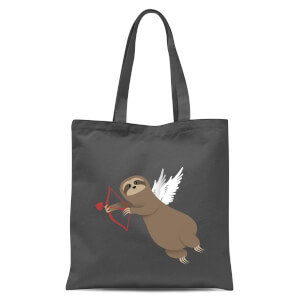 Sloth Cupid Tote Bag - Grey