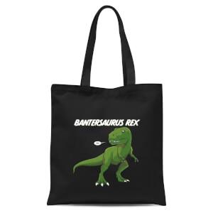 Bantersaurus Rex Tote Bag - Black