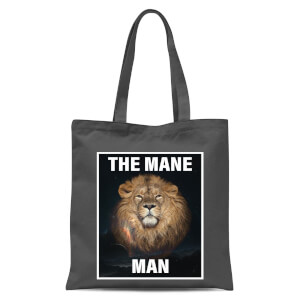 The Mane Man Tote Bag - Grey